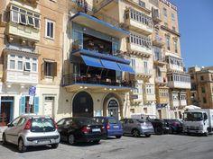 La Valletta (Malta). Hotel British.