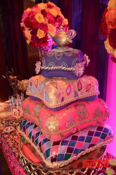 Aladdin/Arabian nights cake