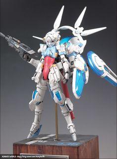 Image Custom Gundam, Gunpla Custom, Anime Figures, Action Figures, Frame Arms Girl, Female Armor, Robot Girl, Lego Mecha, Ex Machina