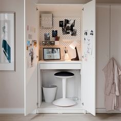 """MICKE Desk, white, 28 3/4x19 5/8"""" - IKEA Workspace Ideas, Small Workspace, Desk Space, Ikea Workspace, Ikea Small Desk, Desks For Small Spaces, Small Apartments, Catalogue Ikea, Wall Mounted Desk"""