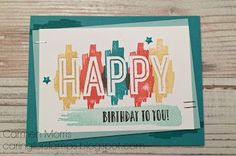 Spring/Summer Catalog Countdown #28: Stampin' Up! ~ Happy Celebration