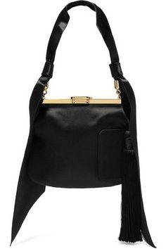 7861c921ac BIENEN-DAVIS 4 Am Tasseled Satin Shoulder Bag Buy Bags