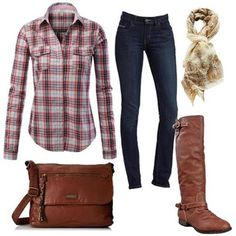20 Fall Fashion Outfit Ideas   More outfits like this on the Stylekick app! Download at http://app.stylekick.com