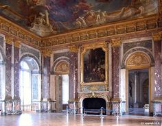The Hercules Room Palace Of Versailles, Best Cities, Hercules, Barcelona Cathedral, Taj Mahal, Mansions, Architecture, City, Building