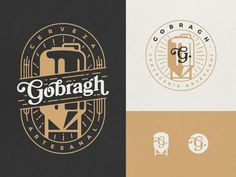 Gobragh: logo alternatives by Gustavo Zambelli