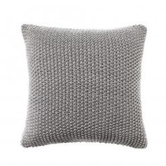 Adairs Kids Mini Santona Cushion Light Marle Grey, kids cushions, kids homewares