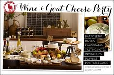 Wine Tasting Party & Wine and Cheese Party | Pottery Barn