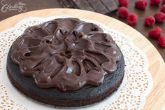 Crazy Cake with Chocolate Ganache :: Home Cooking Adventure