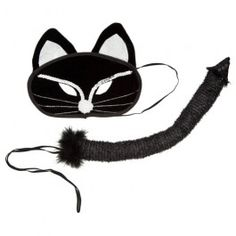 You will be the cats whiskers with this dress up kit! Includes sparkly cat mask and tail, perfect for Halloween party time!