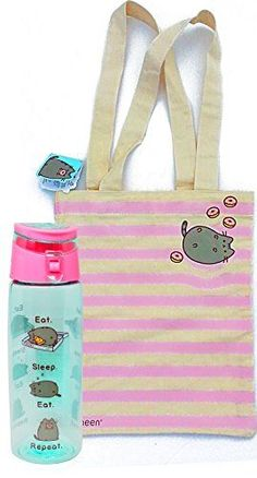 Pusheen The Cat Commuter, School and Shopping Set –Stripe... https://www.amazon.com/dp/B06Y3VYQGD/ref=cm_sw_r_pi_dp_x_.0R.ybCE0QDSJ