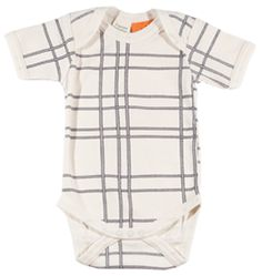 Organic Cotton Onesie in Rope Pattern from Amelia Presents