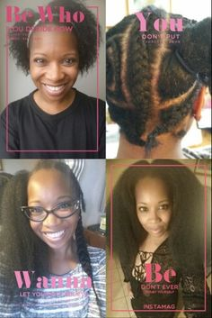 Crochet Hair Meaning : Crochet Braids on Pinterest Marley Hair, Water Waves and Kanekalon ...