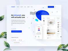 Intranet related platform header by Prakhar Neel Sharma on Dribbble Website Design Inspiration, Web Design Inspiration, Design Trends, Intranet Design, Header Design, Homepage Design, Design Web, Screen Cards, Design Presentation
