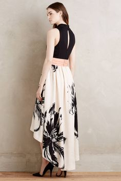 NWT Anthropologie Sumi Mockneck Floral Gown by Moulinette Soeurs Dress Sz 4 Trendy Dresses, Fall Dresses, Nice Dresses, Casual Dresses, Short Dresses, Fashion Dresses, Dresses For Work, Boho Dress, Dress Skirt