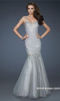 http://www.ikmdresses.com/2015-Glorious-Prom-Dress-Mermaid-Trumpet-Beaded-Spaghetti-Straps-With-Tulle-Skirt-p83081