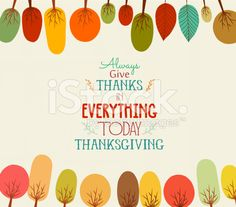 Thanksgiving. Autumn background with trees royalty-free stock vector art