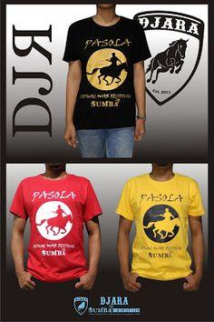 Kode Kaos : Pasolaa I IDR : 75.000 (Merah & Kuning) . 80.000 (Hitam) I Ukuran : S, M, L, XL I Warna : Hitam, Merah, Kuning I Bahan : Cotton Combed 30's I SMS or WA : 085 7272 33 657 I pin BBM : 57031D1E I Line ID : kaos_djara I Fb fanpage : Kaos Sumba - Djara T.shirt I twitter : @Kaos_DJARA