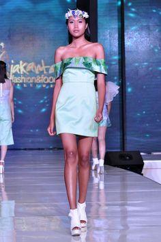 jakarta fashion food festival 2015 - Dress by fashion designer Ingrid Husodo - Fashion Shows 2015 / Project Fellowship Fashion Shows 2015, Food Festival, Jakarta, Strapless Dress, Runway, Projects, Fashion Design, Dresses, Strapless Gown