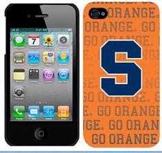 Syracuse Orange iPhone 4 Silicone Case