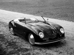 1949–51 Porsche 356/2 Gmünd Cabrio