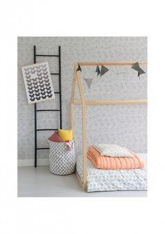 Design Houten Huisbed 90 x 200cm    #bedhuis #housebed #kidsroom #kinderkamerinspiratie #bijzonderebedden #bonbonbleu