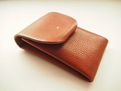 Origami Wallet, Origami Cards, Leather Book Covers, Leather Books, Leather Key Holder, Leather Card Wallet, Cotton Bag, Tan Leather, Hand Stitching