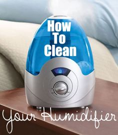 How To Clean Your Humidifier