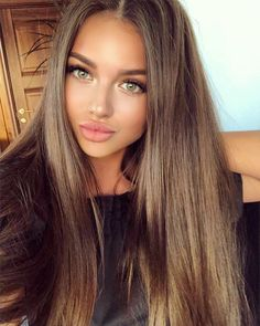 Long Wavy Ash-Brown Balayage - 20 Light Brown Hair Color Ideas for Your New Look - The Trending Hairstyle Beautiful Haircuts, Pretty Hairstyles, Brown Hairstyles, Everyday Hairstyles, Ponytail Hairstyles, Long Brown Hair, Sandy Brown Hair, Brown Hair For Green Eyes, Golden Brown Hair