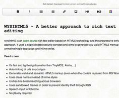 12 Must Have HTML5 Text Editors