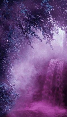 The Magic Faraway Tree - purple water in Fairyland Purple Love, All Things Purple, Shades Of Purple, Purple Stuff, Beautiful Gif, Beautiful World, Beautiful Pictures, Beautiful Things, Whatsapp Fun