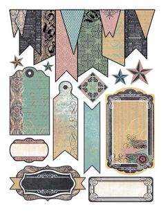 Pin by linda sutton on tags and stickers scrapbook paper, journal cards, sc Scrapbook Stickers, Planner Stickers, Scrapbook Paper, Diy And Crafts, Arts And Crafts, Paper Crafts, Vintage Clipart, Etiquette Vintage, Printable Labels
