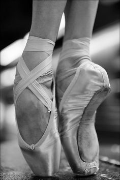 Can't wait for pointe shoes!
