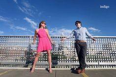 Katie and Josh, Engagement shoot, Charlotte, NC, Indigo Photography, Hall and Webb Event Design