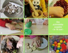16 months - our activities Montessori, Activities