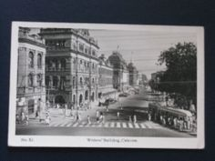 Vintage Postcard - Writer's Building, Calcutta, India - Early 1950's.
