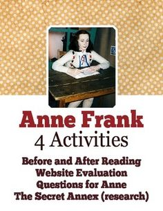 evaluation on anne frank 16052018 anne frank once taped over two pages in her diary with brown sticky paper, leaving a small puzzle as to what material.