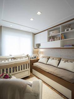 Navegue por fotos de Quarto de crianças Minimalista: DORMITÓRIO BEBÊ 01. Veja fotos com as melhores ideias e inspirações para criar uma casa perfeita.