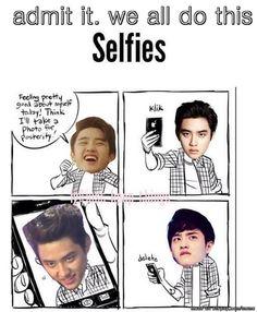 ahahaha Truth. #Kyungsoo #kpop