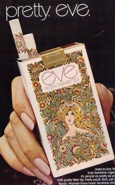 By John Alcorn, Illustrator.  Herb Lubalin, Designer. (I could take up smoking again - totally seduced by the packaging!)