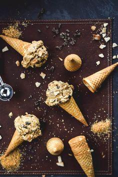 No-Churn Samoas Cookie Caramel Ice Cream
