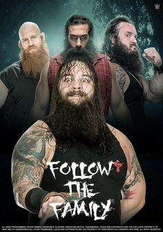 WWE The Wyatt Family 2016 Poster by edaba7.deviantart.com on @DeviantArt