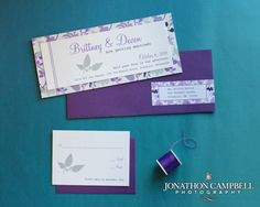 purple and modern, with a unique shape - southall eden paperie