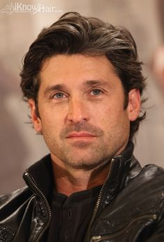 Wavy and Sophisticated, Hot Haircuts for Men. Go ahead with that head full of beautiful hair, Patrick Dempsey! Hair Styles 2014, Medium Hair Styles, Curly Hair Styles, Medium Length Hair Men, Hair Medium, Medium Long, Celebrity Hairstyles, Trendy Hairstyles, Bald Hairstyles