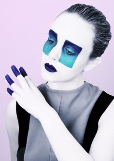 Artist makeup. Concept photography