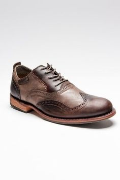 Amazing demi-brogues. I like how much texture these shoes have, with the blend of dark and light materials making a pretty sophisticated piece of footwear.