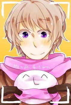 by おいも - Hetalia - Russia (Ivan Braginski) His smile makes me smile, da?