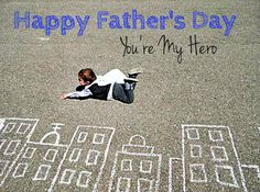 DIY Father's Day Gift....just use chalk to make your setting! @Melanie Childress-Armistead Welch let's do this with the kids!