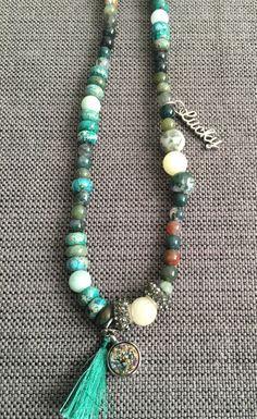 Hippy necklace by FaithfulBeadsbyAsh on Etsy