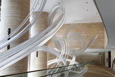 Nikolas Weinstein Studios – Shanghai InterContinental Hotel installation in Hong Kong