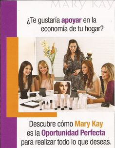 Apoya a la Economía del Hogar obteniendo ingresos extras con tu negocio mary kay... click en la foto si quieres saber mas!!!